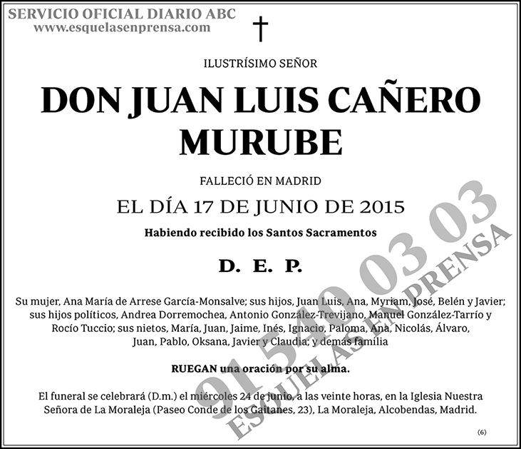 Juan Luis Cañero Murube